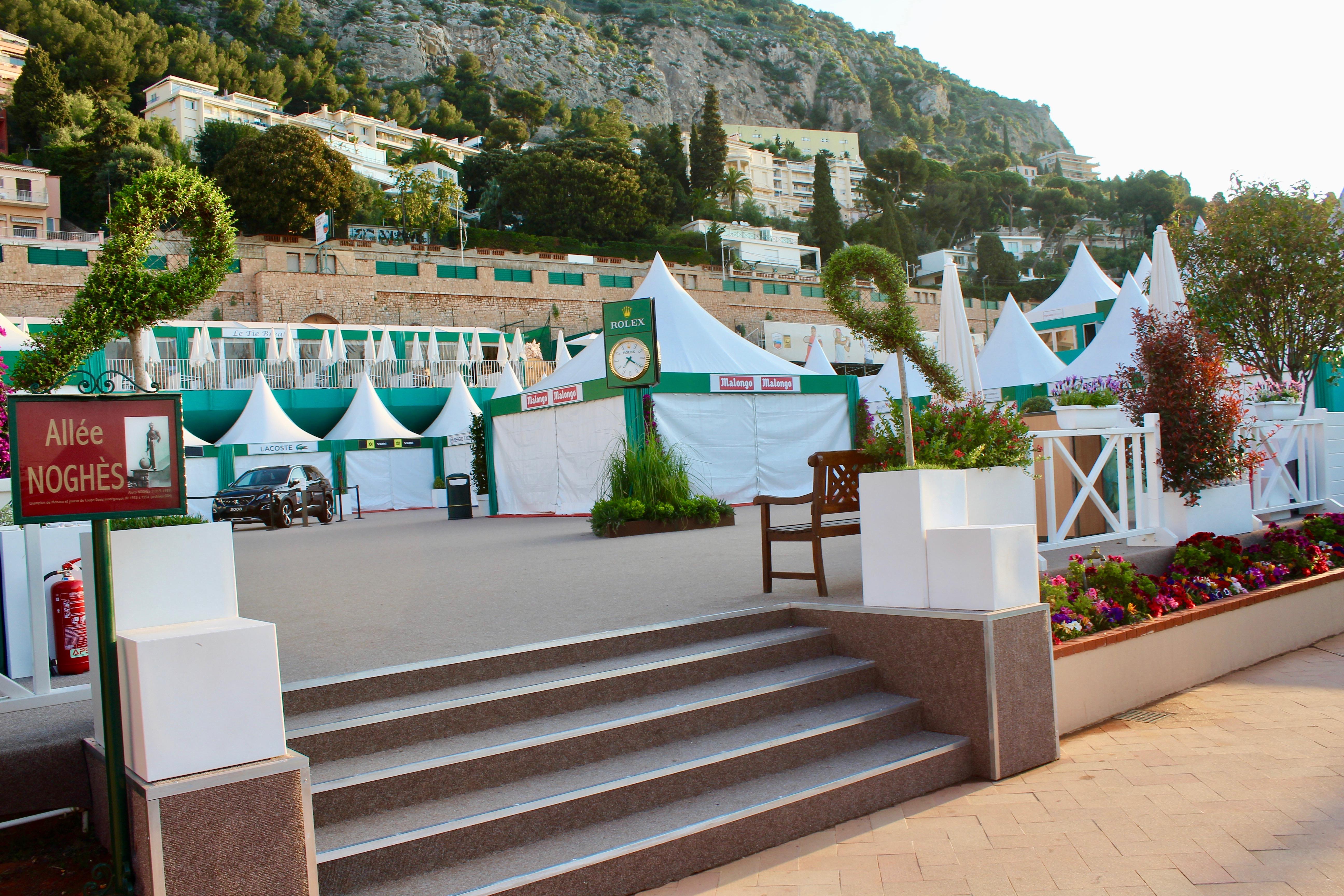 Le village de Rolex Monte-Carlo Masters